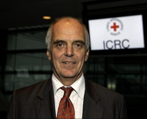 Geoff Loane, Head of Mission for the International Committee of the Red Cross