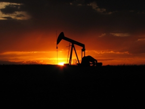 Oil-Well-Sunset