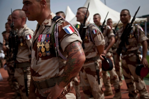 French soldiers in Bamako, Mali. September 2013. Photo: MINUSMA: Marco Dormino (creative commons)
