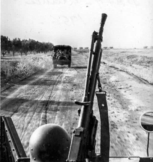 French troops in Oran, northwest Algeria, 1956. Photo:  JP Vasse (CC)