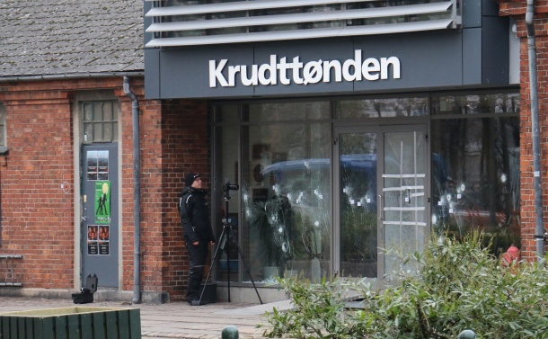 The cafe in Copenhagen where the gunman attacked. Photo: Benno Hansen (CC)