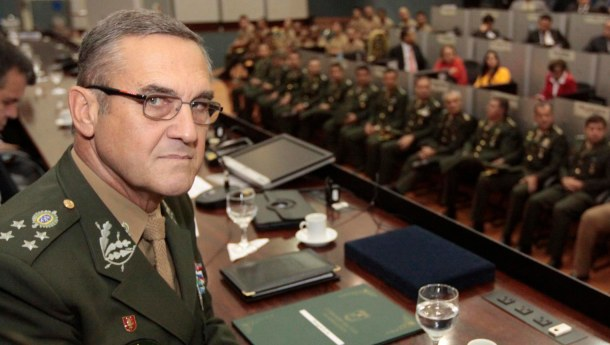 General Eduardo Villas Boas. Photo: Tiago Correa / CMM