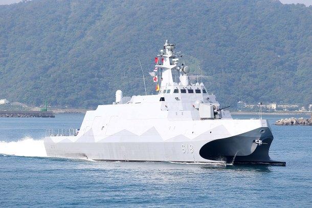 Taiwan's new Tuo Jiang class corvette 'carrier killer' (Photo: Wikipedia)