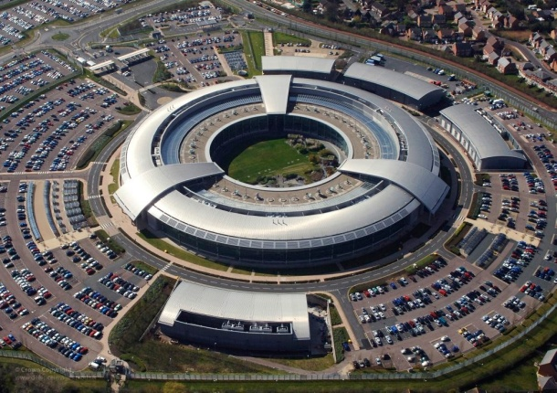 GCHQ building at Cheltenham, Gloucestershire. Photo: Ministry of Defence (creative commons)