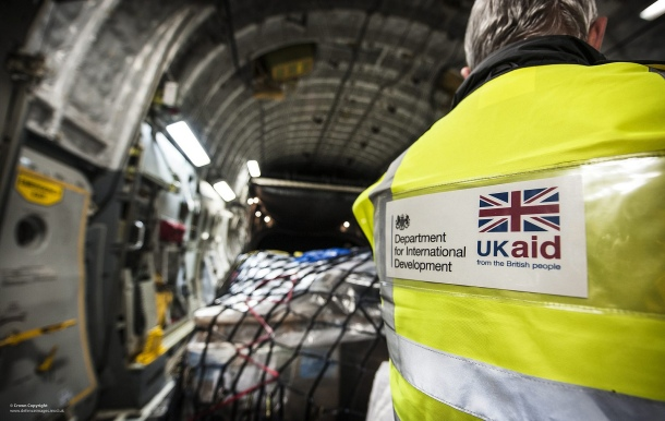 UK aid bound for the Philipines after Typhoon Haiyan, November 2013. Photo: MoD, Sgt Ralph Merry (CC 2.0)