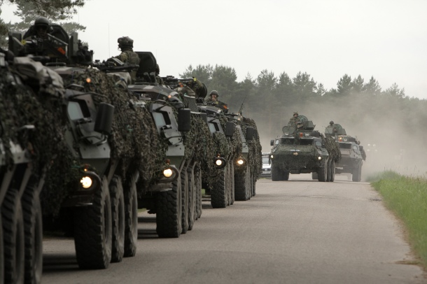 Latvian tanks in operation during NATO Operation Sabre Strike, 2013. Photo: Gatis Diezins, RYC (CC 2.0).