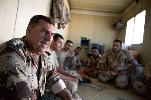 Liwa Wury says he does not understand why so many Westerners are fighting for Islamic State. For that reason, Wurya believes, the West should continue its support for the Peshmerga.